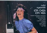 Žena za mixérem