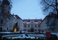 Křest největšího adventního věnce na zámku Loučeň