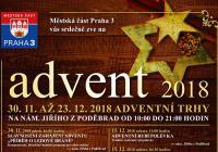 Slavnostní zahájení Adventu na náměstí Jiřího z Poděbrad - Praha