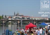 Farmářské trhy na Náplavce v Praze