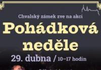 Pohádková neděle s čarodějnicí - Chvalský zámek Praha