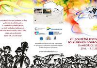 Vystoupení folklorních souborů - Zámek Slavkov u Brna