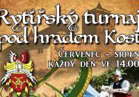 Rytířský turnaj na hradě Kost