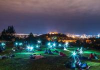 Noc padajících hvězd na Kraví hoře v Brně
