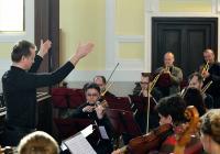 Koncert orchestru Musica Florea v Teplicích