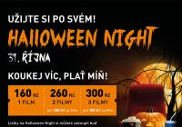 Halloween Night - Cinema City Galaxie Praha