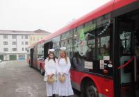 Mikulášský autobus - Chrudim