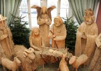 Výstava betlémů / První vánoční stromeček v Praze