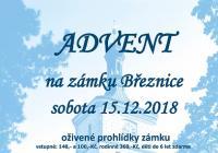 Adventní oživené prohlídky na zámku Březnice