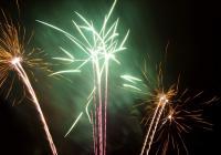 Novoroční ohňostroj - Vyškov
