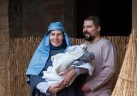 Živý betlém s vánoční pohádkou