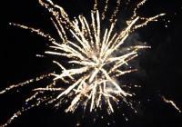 Novoroční ohňostroj - Chotěboř