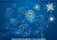 Novoroční ohňostroj - Kopřivnice