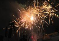 Novoroční ohňostroj - Žďár nad Sázavou