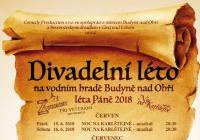 Budyňské divadelní léto 2018