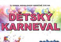 Dětský karneval v Kovalovicích