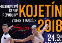 Mistrovství ČR v deseti tancích Kojetín 2018
