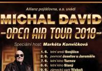 Michal David na zámku Slavkov u Brna