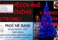 Rozsvícení vánočního stromu - Konice