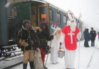 Mikulášská jízda parním vlakem na Hřebeny