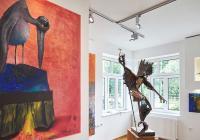 Blízké světy autorská výstava Igor Kitzberger, Ivan Pavle