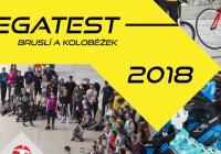 Megatest bruslí a koloběžek 2018