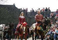 Královské slavnosti na hradě Svojanov