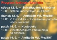 Mezinárodní folklorní festival Babí léto - Valašské Meziříčí