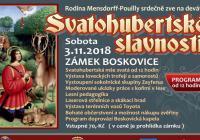 Svatohubertské slavnosti na zámku Boskovice