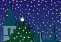 Rozsvícení vánočního stromu na Kaňku - Kutná Hora