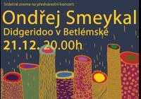 Didgeridoo v Betlémské - předvánoční koncert