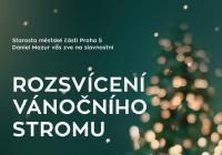 Rozsvícení vánočního stromu - Praha 5