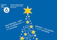 Rozsvícení vánočního stromu - předpolí Písecké brány Praha