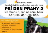 Psí den na náměstí Míru v Praze