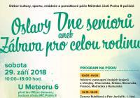 Den seniorů aneb zábava pro celou rodinu - Praha