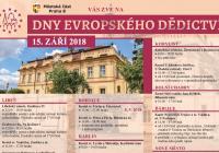 Dny evropského dědictví na Praze osm