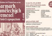 Jarmark uměleckých řemesel - Libeňský zámek Praha