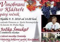 Vinobraní v Klášteře Praha