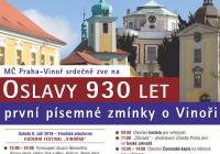Oslavy Prahy Vinoř