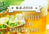 Řečkovický festival minipivovarů 2018