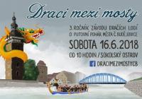Dračí lodě - Sokolský ostrov České Budějovice