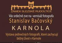 Vernisáž výstavy fotografie Karnola