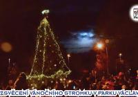 Rozsvěcení vánočního stromku na Střížkově - Praha