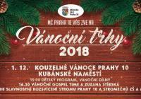 Vánoční trhy - Praha 10
