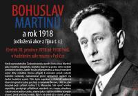 Bohuslav Martinů a rok 1918