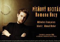 Písňový recitál Romana Hozy