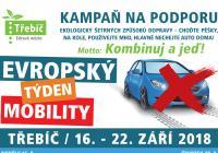 Evropský týden mobility - Třebíč