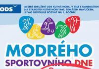 Modrý sportovní den - Kutná Hora