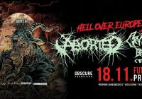 Aborted Cryptopsy Benighted Cytotoxin - Futurum Music Bar Praha