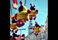 Prázdninový trh na náměstí v Třeboni